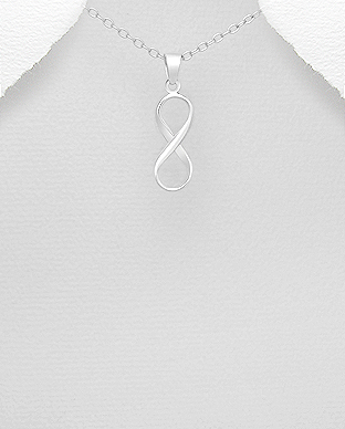 Infinity pendant gasorabox sterling silver online jewellery store infinity pendant necklaces pendants sterling silver 925 mozeypictures Gallery